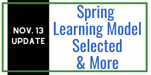 Spring learning model selected & more updates!