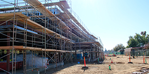 Construction look-in: Mira Loma science building