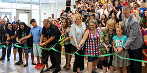 Ribbon cut on new Dyer-Kelly Elementary School