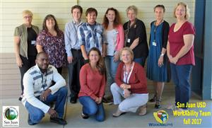 SJUSD WORKABILITY TEAM Oct 2017