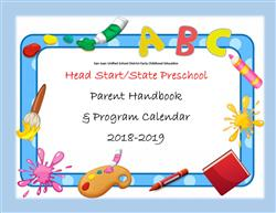 2018-2019 Preschool Handbook and Program Calendar