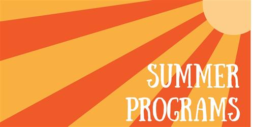 Summer programs header