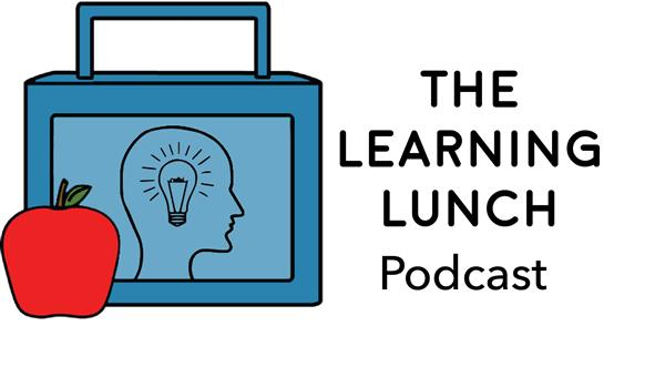 The Learning Lunch Podcast Logo