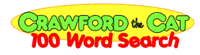 100 Word Search Logo