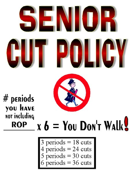 Bella Vista's Senior Cut Policy