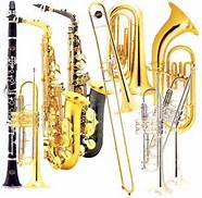 photo of band instruments