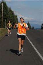 Mrs. Timm running Hood to Coast race