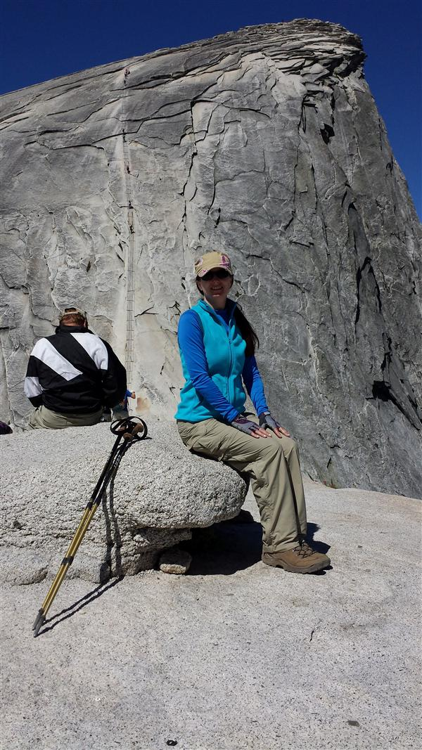 Ms. Williams at HalfDome