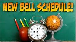 NEW BELL SCHEDULE FOR 2018-19