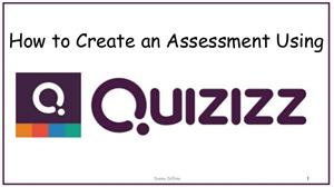 How to Create Assessments