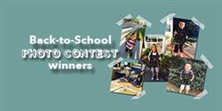 Back-to-School Photo Contest winners