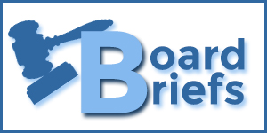 BOARD BRIEFS - Dec. 10, 2019
