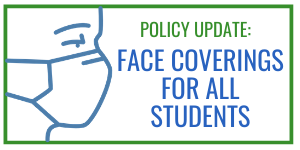 All students required to use face coverings
