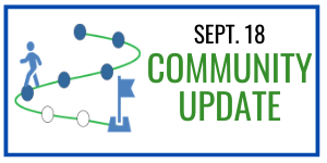 Graphic Headline: Sept 18 Community Update