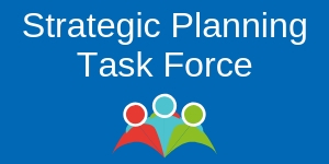 Strategic Planning Task Force with illustration of people