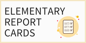 Elementary Report Cards with image of report