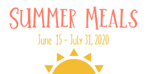 Summer Meals graphic