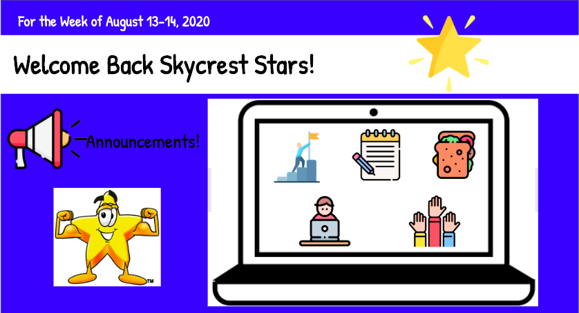 Welcome Back Skycrest Stars