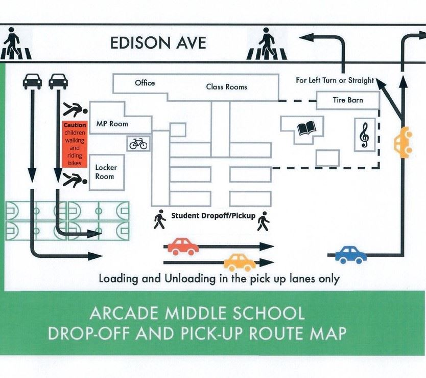 Arcade Drop Off and Pick Up