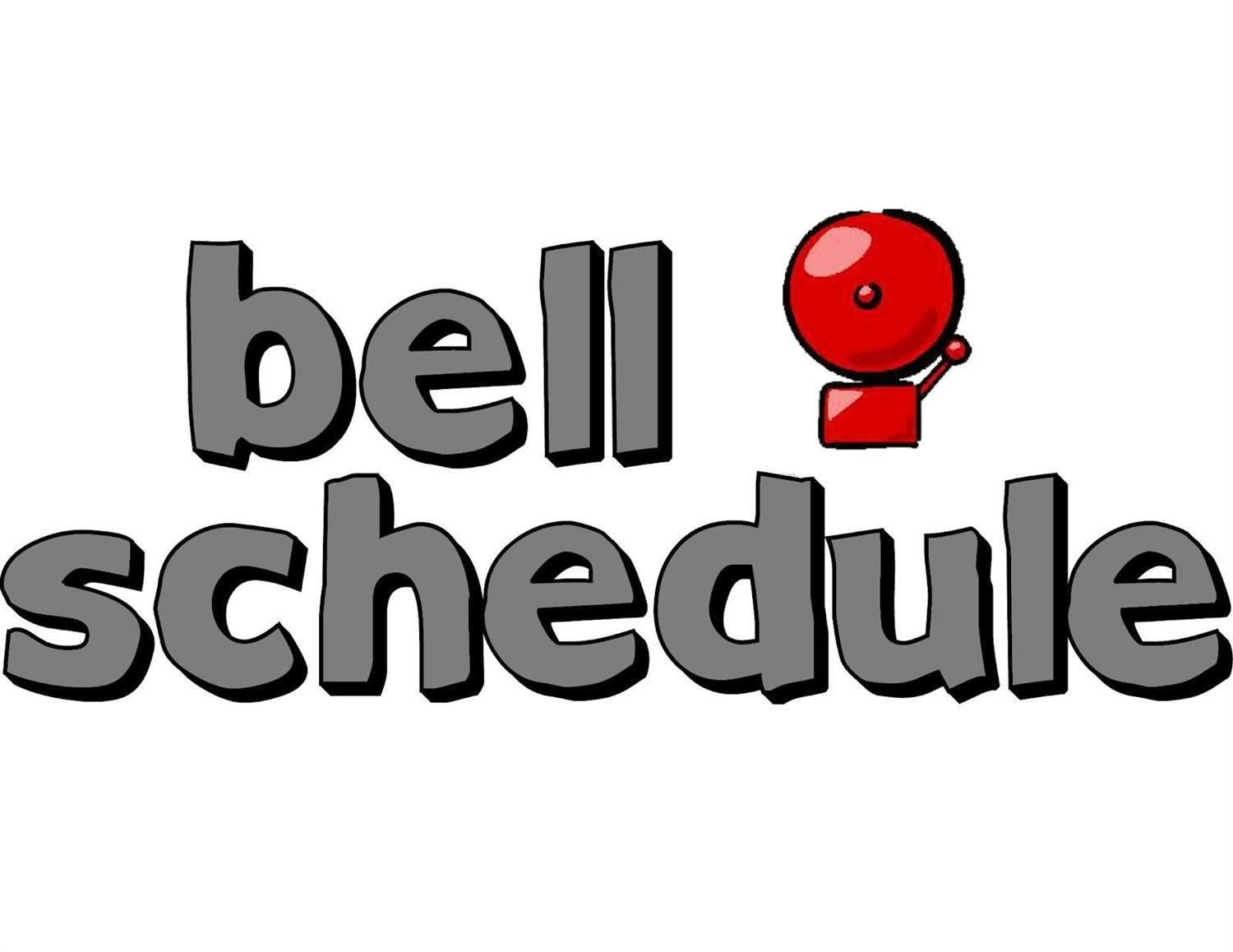 New Bell Schedule for 19/20