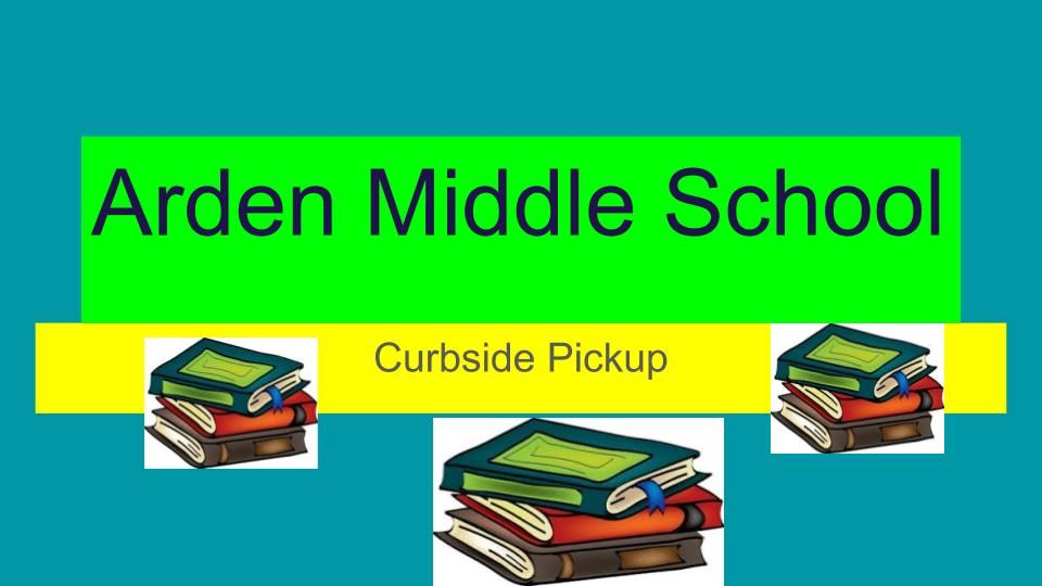 Curbside Pickup Library Books