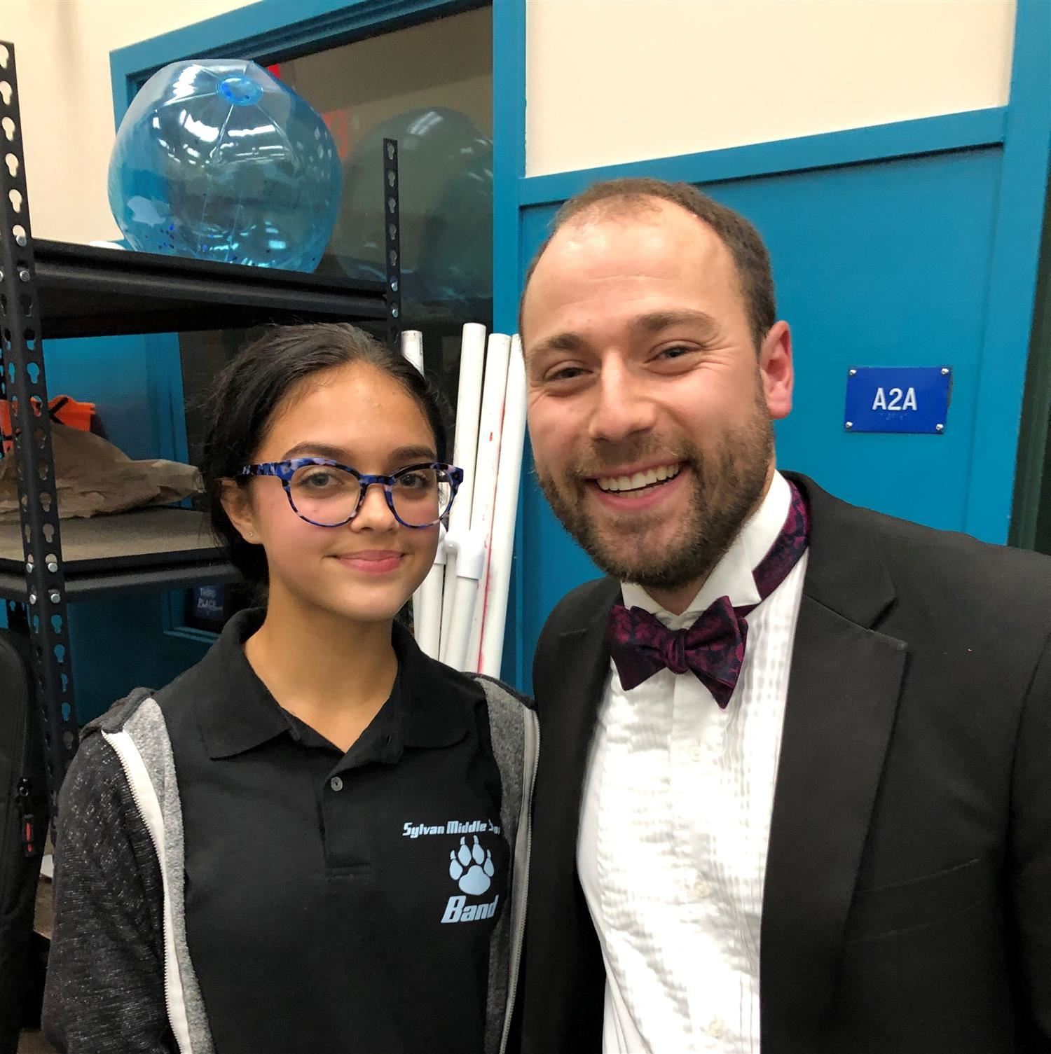 Sylvan Student Selected for Honor Band!