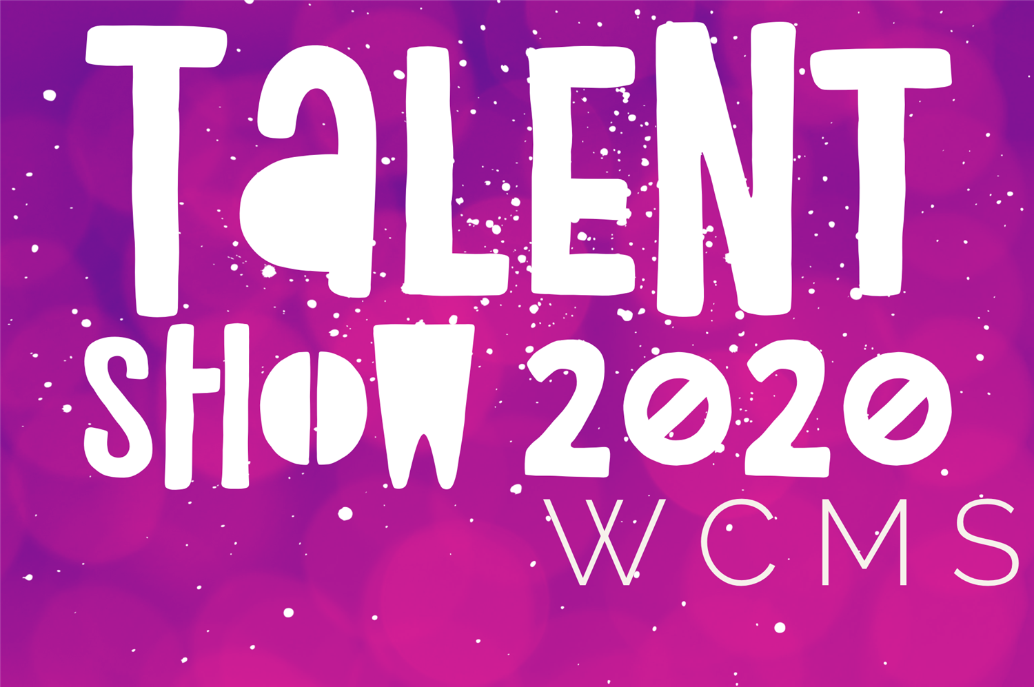 Our virtual talent show is here for 2020!