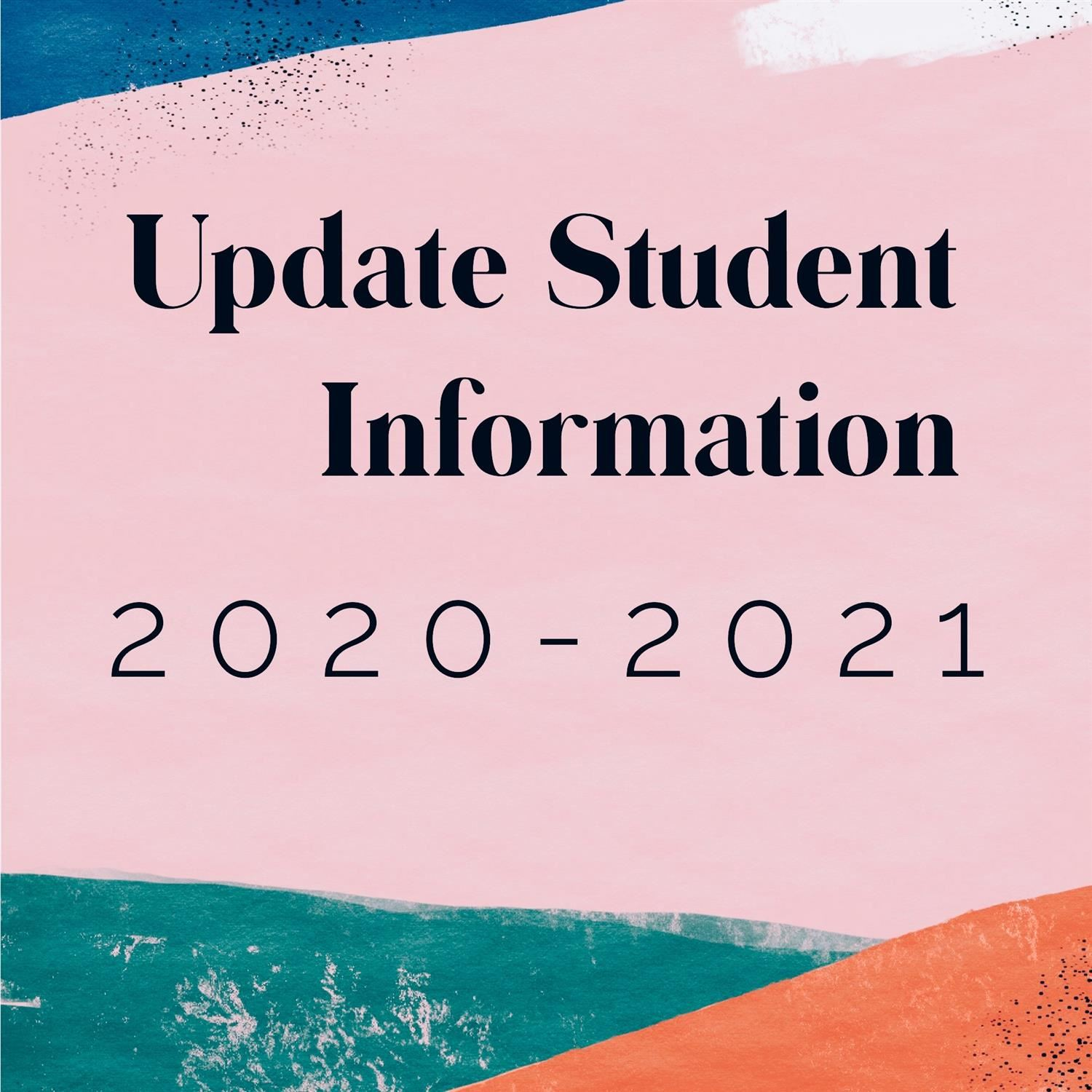 Annual Student Information Update