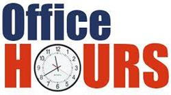 Vacation Office Hours