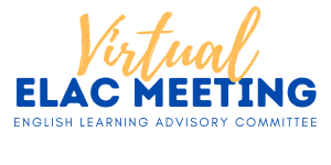 1/27/21 English Learner Advisory Committee (ELAC) Meeting