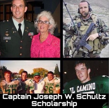 Captain Schultz Scholarship Due April 27