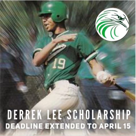 Derrek Lee Scholarship Due April 27