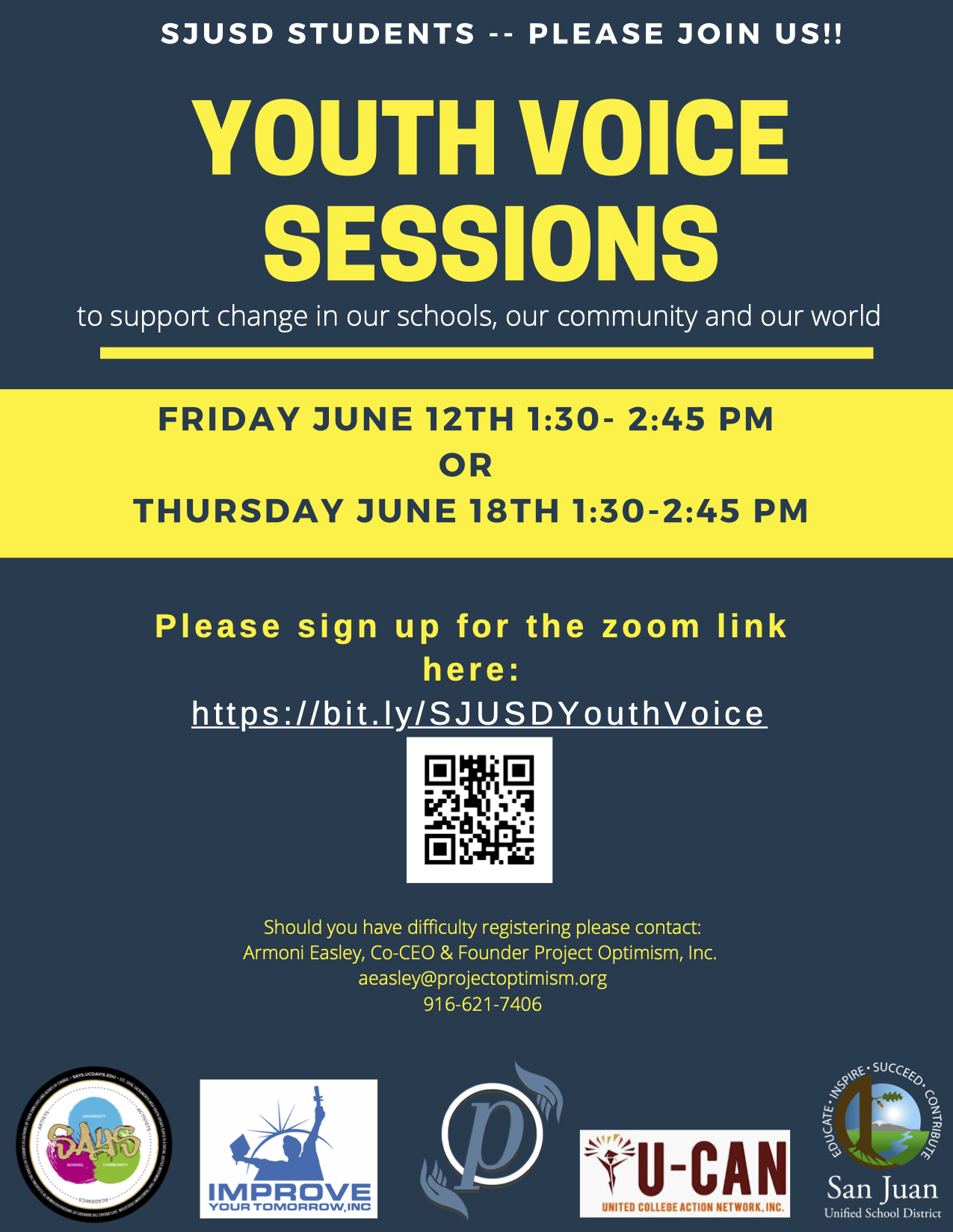 Youth Listening Sessions