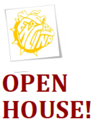 Open House -- Thursday, March 22 from 5:00pm - 6:00pm