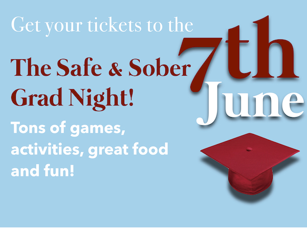 Get your tickets to Mira Loma's Safe and Sober Grad Night