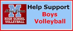 Boys Volleyball -  Fundraiser