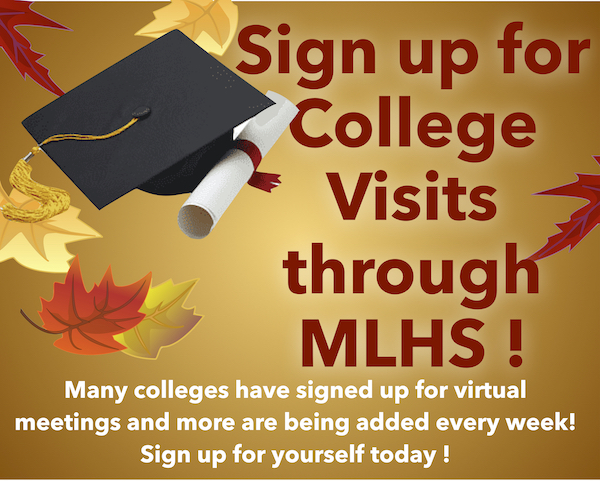 Mira Loma College Visits have begun! Book your appointment today!