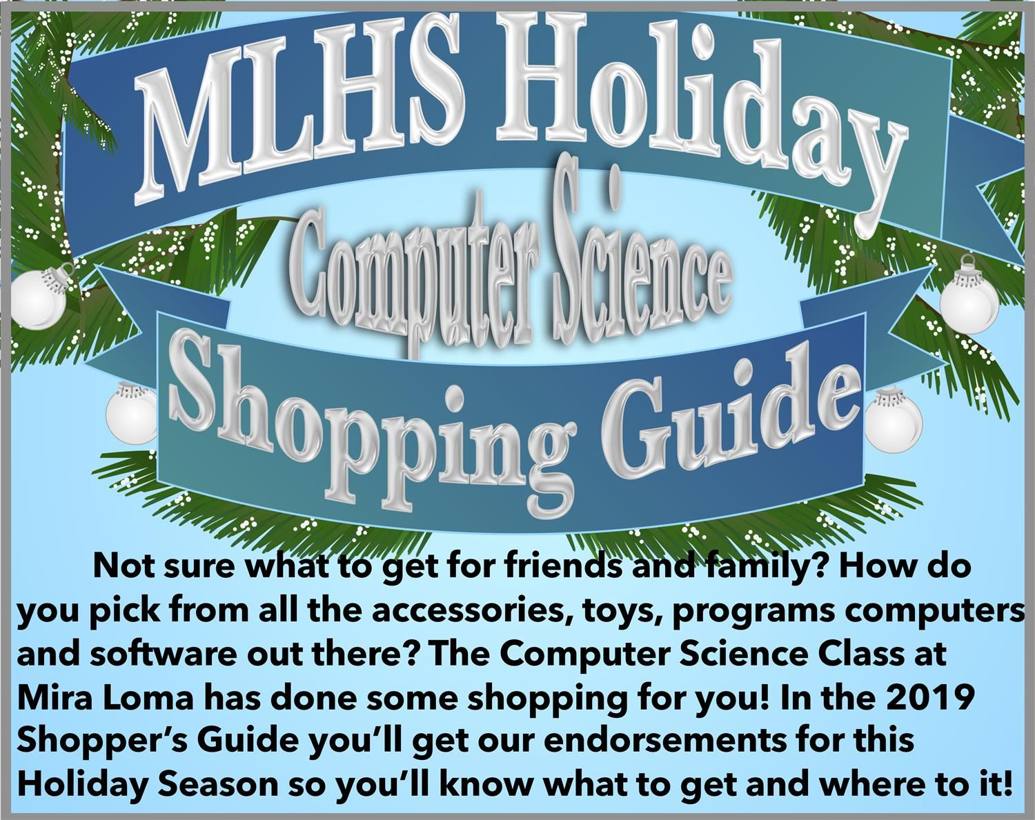 Holiday Consumer Guide