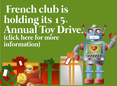 Joyeux Noel - French Club Toy Drive