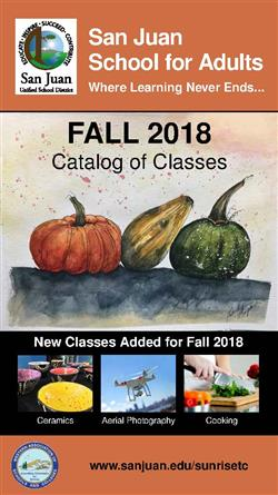 Fall 2018 Classes are ready for registration