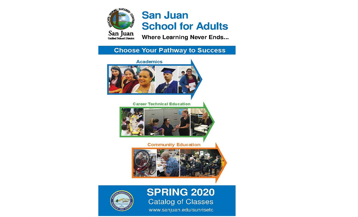 Spring 2020 Classes are ready for registration
