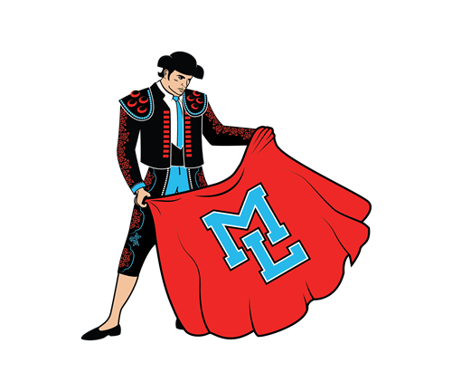 No background Matador