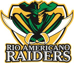 Rio Americano Raiders High School Logo
