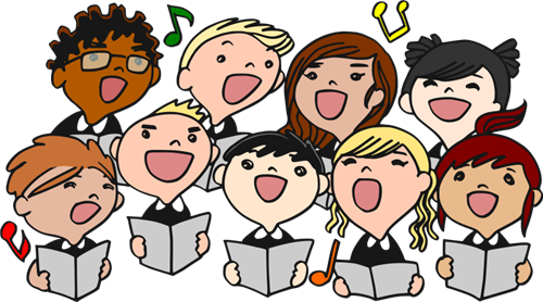 Choir Children Singing