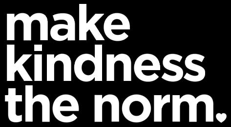 make kindness the norm sign