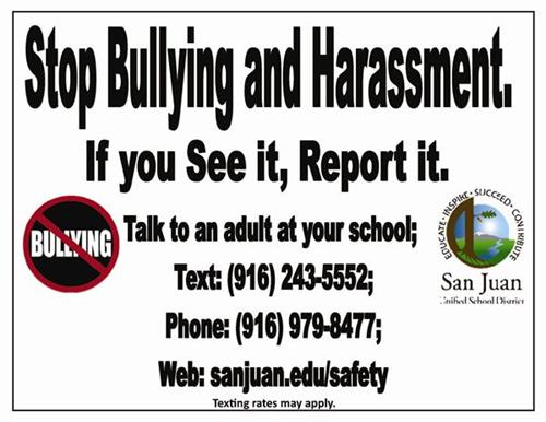 Stop Bullying banner